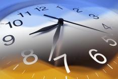 Cambio del tiempo por el horario de invierno 2021